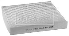 Borg & Beck Interior Air Filter Cabin Pollen BFC1014 - GENUINE - 5 YEAR WARRANTY