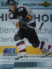 39 Gregory Johnston Berlin Capitals DEL 2000-01