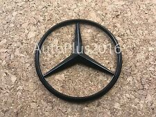 New for Mercedes Benz Black Star Trunk Emblem Badge 90mm - Free US Shipping BH