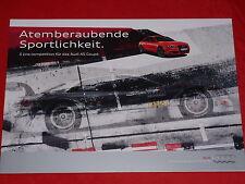"AUDI A5 ""S line competition"" Sondermodell Prospekt von 2012"