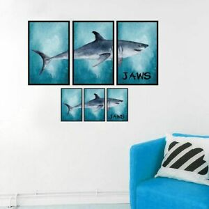 Wall Stickers Shark Puzzle Self Adhesive Vinyl Decals Art Mural Home Wallposter