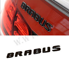 BRABUS Emblems For Mercedes G E S CLS GLE GLS C Rear Boot Badge Decal Stickers