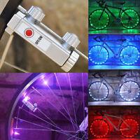 Cool Bicycle Bike 20 LED Rim Lights Wheel Spoke Light Cycling Strip String Lamp