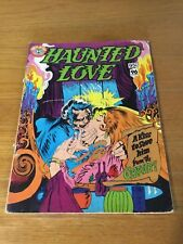 Australian Horror Comic ~ Murray Comics ~ HAUNTED LOVE ~ A KISS TO SAVE HIM FROM