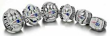 6PCs (01 03 04 14 16 18) New England Patriots World Championship Ring --//