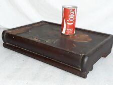 "original Macey 1/2 size (17"" wide) mahogany barrister bookcase top cap #94-1/2"
