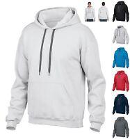 Gildan Mens Hoodie Pullover Hooded Sweatshirt Heavy Weight Hoody Sports Casual