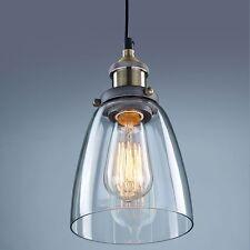 Antik Industrie Glas Schirm Hängeleuchte Pendelleuchte Retrolampe Neu Klassik