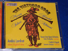 CD the virtuoso oboe ANDRE LARDROT felix prohaska ANTONIO JANIGRO english horn