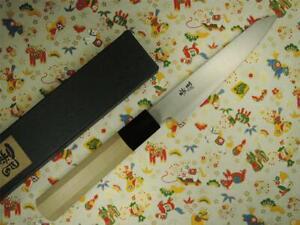 Ashi Hamono Ginga White Steel Wa-Honesuki Maru Japanese Knife 150mm
