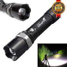 20000Lumens T6 LED Flashlight Zoom Focus 18650 Military Focus Torch Lamp