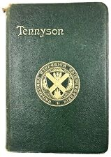 POEMS OF TENNYSON - Alfred Lord Tennyson (Softcover, 1918) Oxford Edition