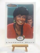 the women of Star Trek In Motion archive collection card Gold 4 Uhura 443/500