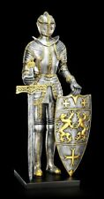 Grand Ritter Figure avec Épée et Panneau - Moyen-âge Armor
