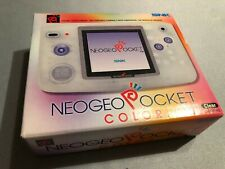 SNK Neo Geo Pocket Color Clear Handheld System Open Box
