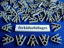 100 Light Gray 2-Position Connectors Bulk Standard Knex Spare Parts/Pieces Lot