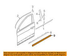 VW VOLKSWAGEN OEM 06-10 Passat Front Door-Lower Molding Trim Right 3C0854940A9B9