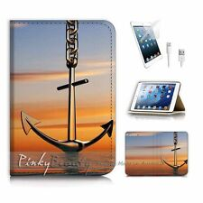 ( For iPad mini Gen 1 2 3 ) Flip Case Cover PB10295 Anchor