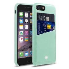 Carcasas de color principal verde de piel para teléfonos móviles y PDAs