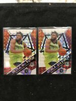 2019 Panini Mosaic Lot(2) #2 Karl-Anthony Towns Mosaic Prizm- Will To Win-OBO