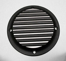 Harley Sportster Finned Derby Cover Black two tone 1994 to 2003