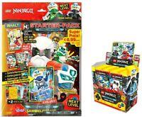 "Lego® Ninjago™ Serie 5 "" Next Level"" Trading Card Game Starterpack + 1 Display"