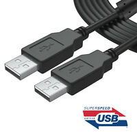 PREMIUM Shielded USB 2.0 Cable Type A Male to Type A Male for PC/Laptop US lot
