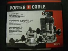 Porter Cable 895PK 2 1/4 HP Fixed & Plunge Base Router Kit & Height Adjuster New
