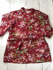 New listing Vintage Kiyomi Liberty House Hawaii •M L 8 10 12• Kimono Top Belted Shirt Tunic