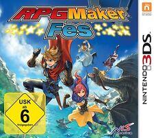 RPG Maker FES 3ds NUEVO + Embalaje orig.