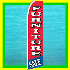 FURNITURE SALE BANNER FLAG Advertising Sign Feather Swooper Bow Flutter Ad Flag
