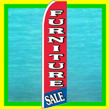Furniture Sale Banner Flag Advertising Sign Feather Swooper Bow Flutter Ad Flag