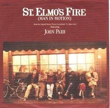 "JOHN PARR St. Elmo's Fire PICTURE SLEEVE 7"" 45 record + juke box title strip NEW"
