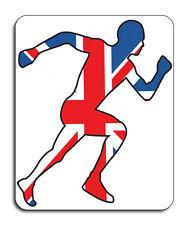 Best of British Sports, Athlete Mouse Mat - Union Jack Flag