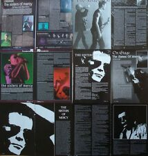 Sisters Of Mercy ___  Andrew Eldritch  ___  15  Seiten / Pages  ___  Collection