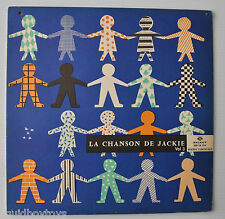 LA CHANSON DE JACKIE Vol.3 FRENCH CHILDREN LP Record 1960s Select