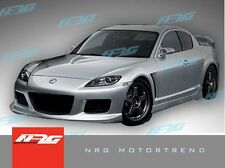 RX8 04-08 Mazda MS style Poly Fiber full body kit bumper kit front side rear