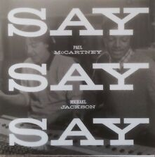 PAUL MCCARTNEY + MICHAEL JACKSON 'SAY SAY SAY' 2015 NEW OFFICIAL UK CD PROMO
