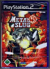 Ps2 Sony PlayStation 2 Game Metal Slug 5 Boxed