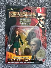 Pirates Of The Caribbean Elizabeth Swann figure Singapore Disguised - 3D Coin