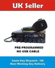 CRE8900 10M 11M MULTIMODE AM FM USB LSB CW MULTICOLOR DISPLAY NO USBCABLE DIN PP