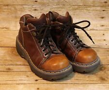 Dr Doc Martens Work/Hiking Boots UK 3 Made In England  Woman's US 4 Ombre Brown