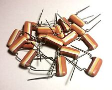 10pcs Mullard 0.33uF 250V Tropical Fish Audio Grade Tone 330nF Capacitor C280