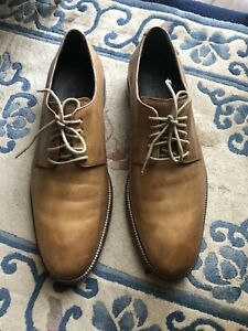 COLE HAAN MEN'S DISTRESSED LEATHER SHOES SIZE 9.5M