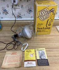 Vintage Norelco Deluxe Ultraviolet Sun Lamp WORKS!