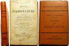 BOTANIQUE/MANUEL DE FLORICULTURE/VILMORIN/ED BAILLIERE/1900/208 FIGS/RARE EO