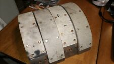 RELINED BRAKE SHOES BENDIX BR-263 1971 3/4 TON CHEVY PICK UP TRUCK