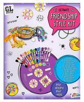 Childrens Girls Ultimate Friendship Style Kit Kids Friendship Bracelet Craft Set