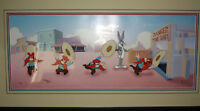Warner Brothers Yosemite Sam and Bugs Bunny- Mine Shaft Shuffle Cel- Virgil Ross