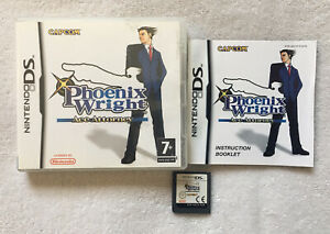 Phoenix Wright: Ace Attorney Nintendo DS (3DS) Complete W/ Manual Capcom PAL